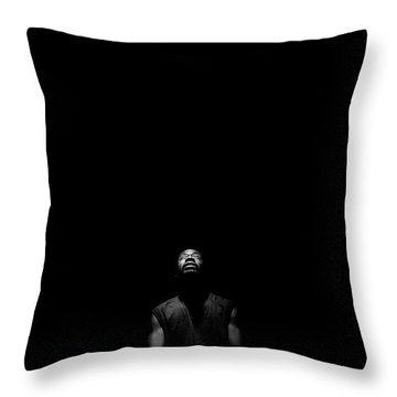 I See Your Face Throw Pillow