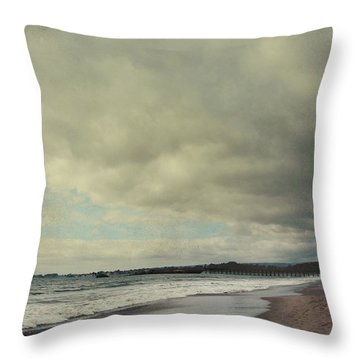 I Should've Known It Was A Warning Throw Pillow by Laurie Search