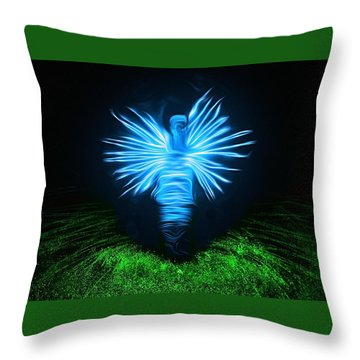Throw Pillow featuring the photograph I Sing The Body Electric by Mark Fuller