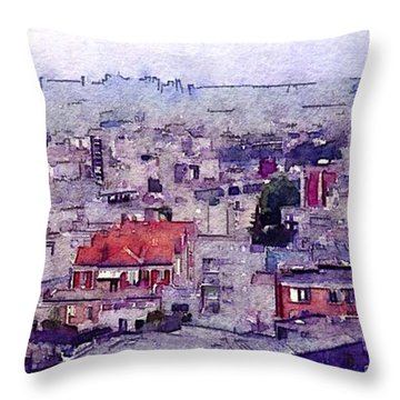 Throw Pillow featuring the photograph I Still Have Paris by Susan Maxwell Schmidt