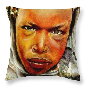 I The Prophet Prophesy To You Throw Pillow by G Cuffia