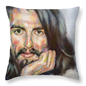 Free From Birth Throw Pillow by Rebecca Glaze