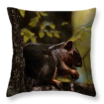 I Thought I Was Alone Throw Pillow