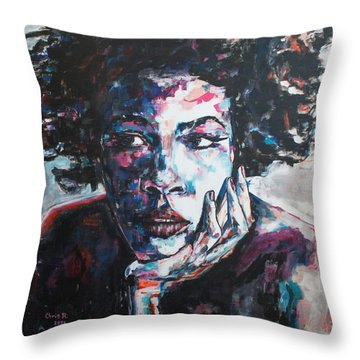 I Try Sweet Baby I Try Throw Pillow