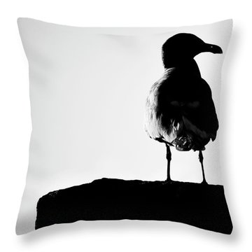 I Turned Right  Throw Pillow