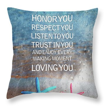 I Vow To... Throw Pillow