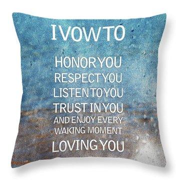 Honor Throw Pillows