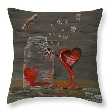 I Wanna Be Your Sledge Hammer Throw Pillow
