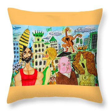 I Wanna Dineroh / I Wanna Money Throw Pillow