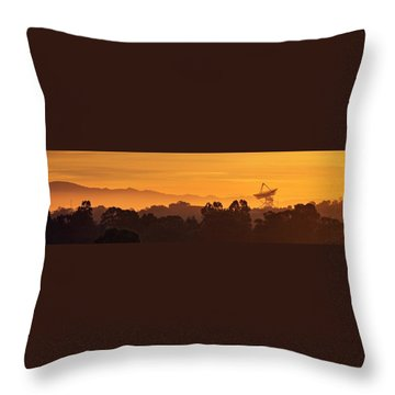 Throw Pillow featuring the photograph I Wanna Walk On Your Wave Length by Quality HDR Photography