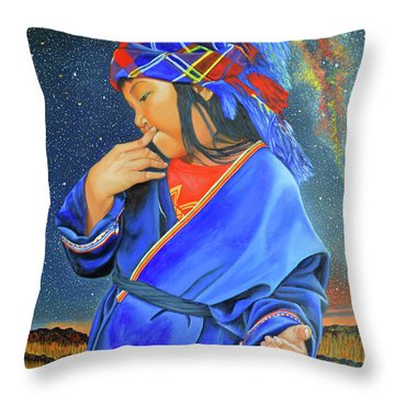 I Want To Put A Ding In The Universe Throw Pillow