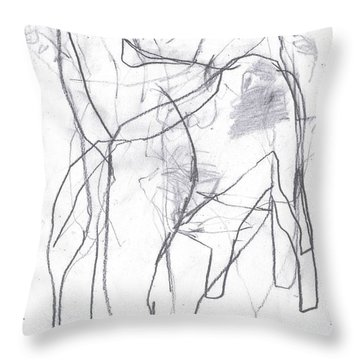 I Was Born In A Mine 10 Throw Pillow