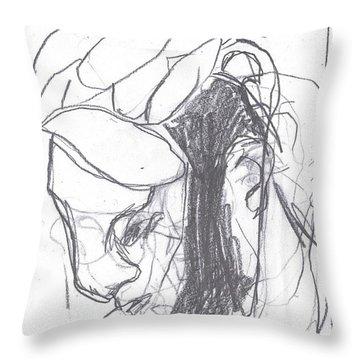 I Was Born In A Mine 8 Throw Pillow