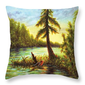 I Was Younger Then Throw Pillow