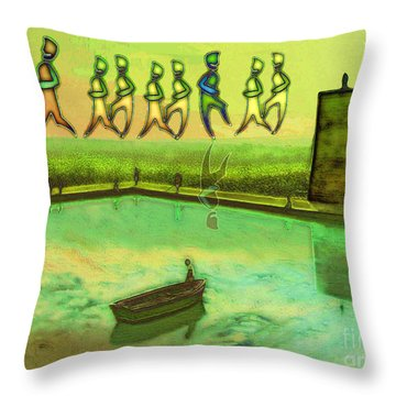 I Wasn't Born To Follow Throw Pillow