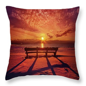 I Will Always Be With You Throw Pillow