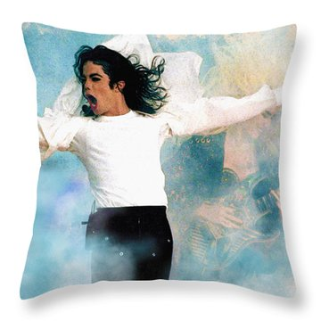 I Will Be There Throw Pillow