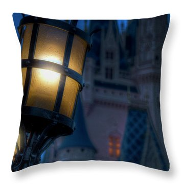 I Will Leave The Light On Throw Pillow