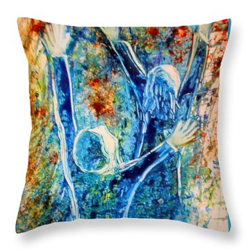 I Will Praise You In The Storm Throw Pillow