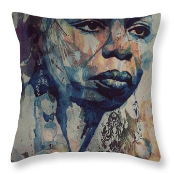 I Wish I Knew How It Would Be  Feel To Be Free Throw Pillow