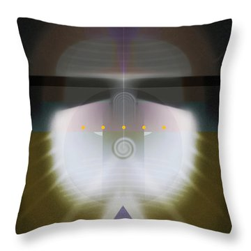 I Wish I Was A Headlight On A Northbound Train Throw Pillow