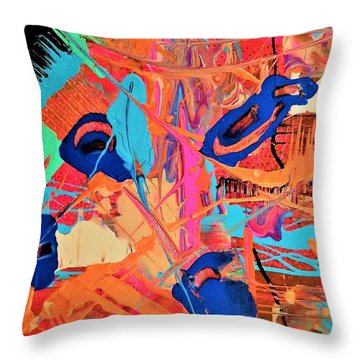 I Would Know That Lovely Laugh Anywhere Throw Pillow