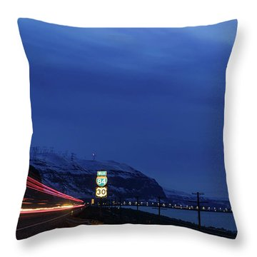 Throw Pillow featuring the photograph I84 by Cat Connor
