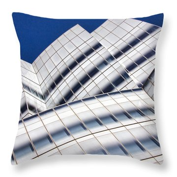Iac Building Throw Pillow