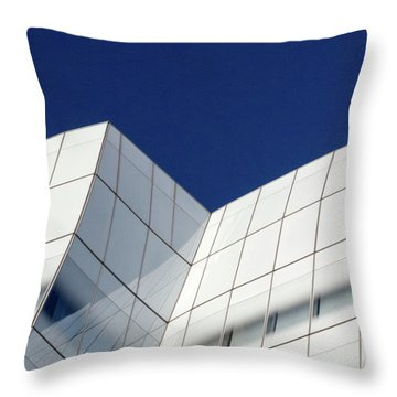 Throw Pillow featuring the photograph Iac Sky by Eric Lake