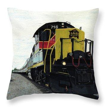 Iais716 Throw Pillow