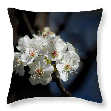 #iamastarshiningoutofthedepths Throw Pillow by Becky Furgason