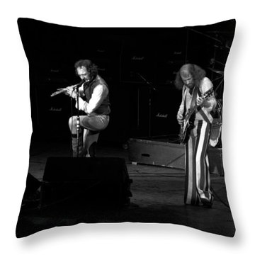 Ian And Martin Throw Pillow by Ben Upham