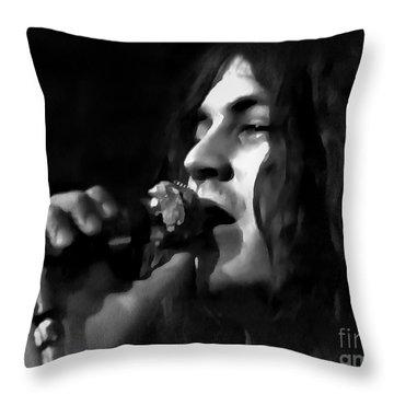 Ian Gillan Throw Pillow by Sergey Lukashin