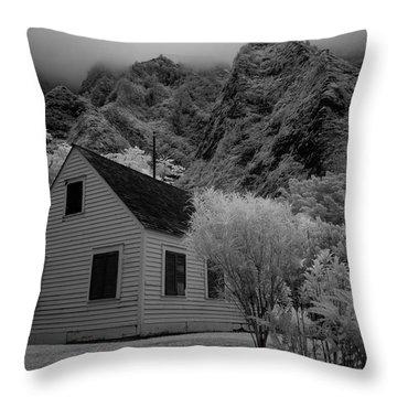Iao Valley  Throw Pillow
