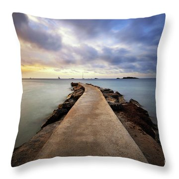 Ibiza Summer Mix 6.0 Throw Pillow by Yhun Suarez