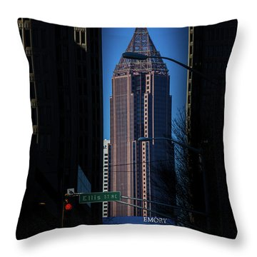 Ibm Tower Throw Pillow