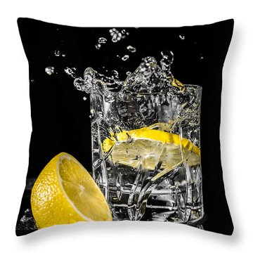 Ice And A Slice Throw Pillow