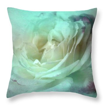 Ice Maiden Throw Pillow by Wallaroo Images