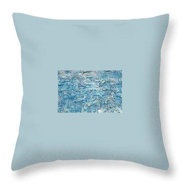 Ice Melt  # 22617 Throw Pillow