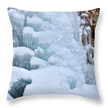 Ice Mosaic Throw Pillow