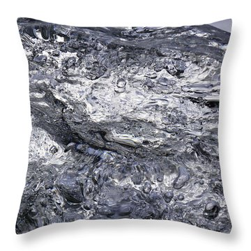 Throw Pillow featuring the photograph Ice Mountain 1 by Sami Tiainen