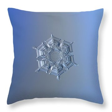 Ice Relief II Throw Pillow by Alexey Kljatov