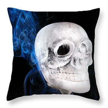 Ice Skulpture Throw Pillow