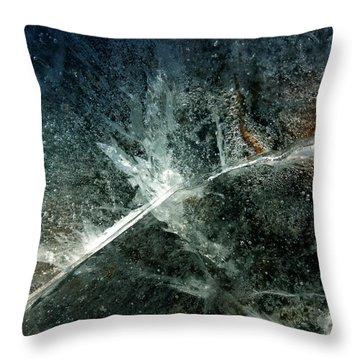 Ice Winter Denmark Throw Pillow by Colette V Hera Guggenheim
