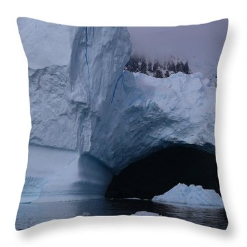 Iceberg Passthrough Throw Pillow