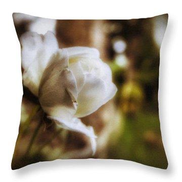 Iceberg Rose Throw Pillow