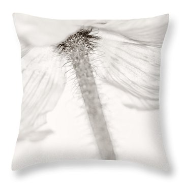 Iceland Poppy Throw Pillow by Silke Magino
