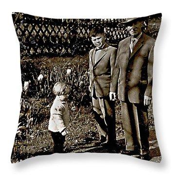 Ich 1960 Throw Pillow