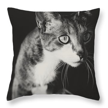 Ickis The Cat Throw Pillow