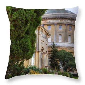 Ickworth House - England Throw Pillow